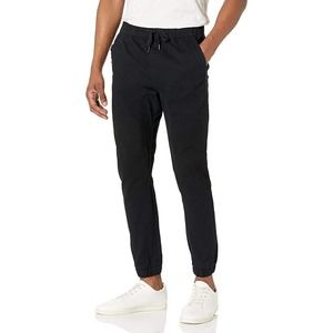 WT02 Twill Jogger Pant Blue Stretch Size Small